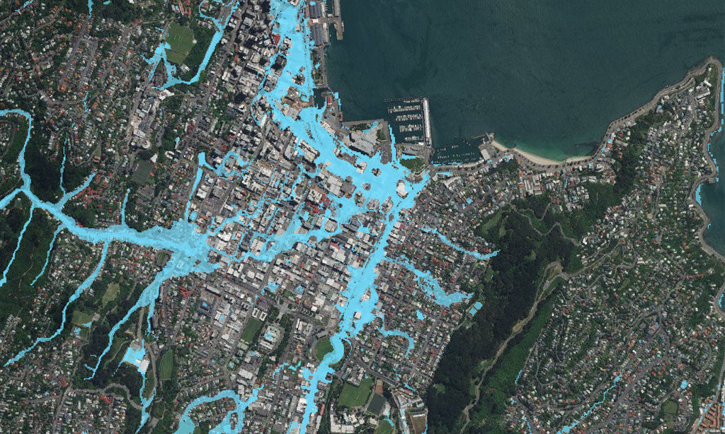 New Zealand FloodMap - Fluvial and Pluvial