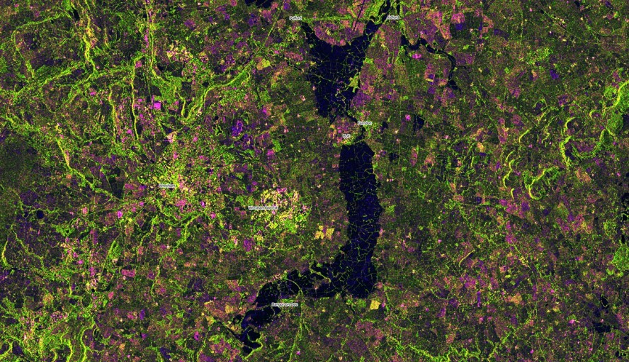 Winter storm Christoph caused extensive flooding along when the River Dee burst it's banks on 21st January, inundating properties along the valley, as shown in the image generated from Sentinel 1 radar data. Multiple reports of damaged properties in the media.